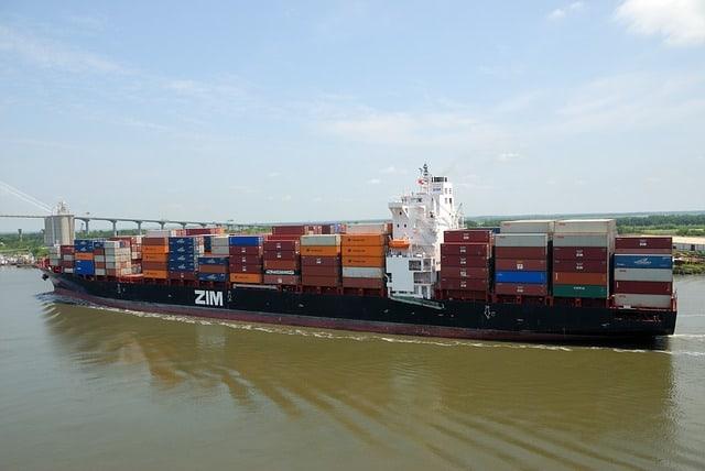 transporte maritimo de mercancias